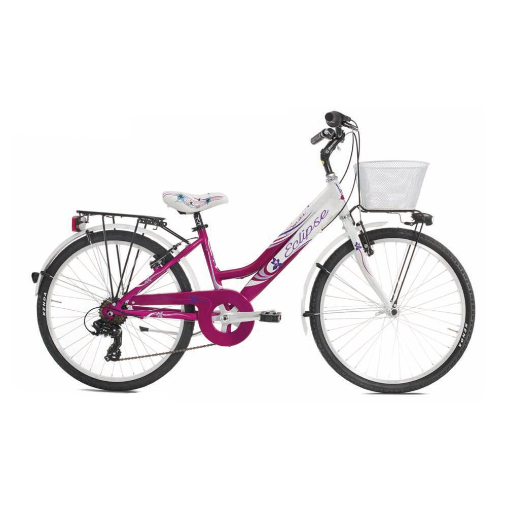 ECLIPSE MTB 24 CITY 6V ALLUMINIO SMILE BAMBINA