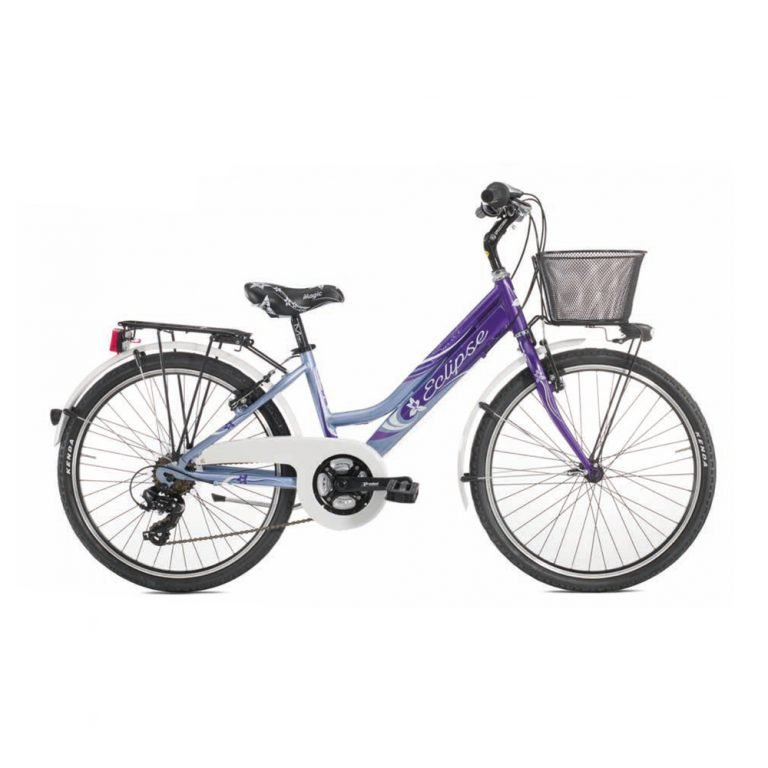 ECLIPSE MTB 24 CITY 18V ALLUMINIO SMILE BAMBINA