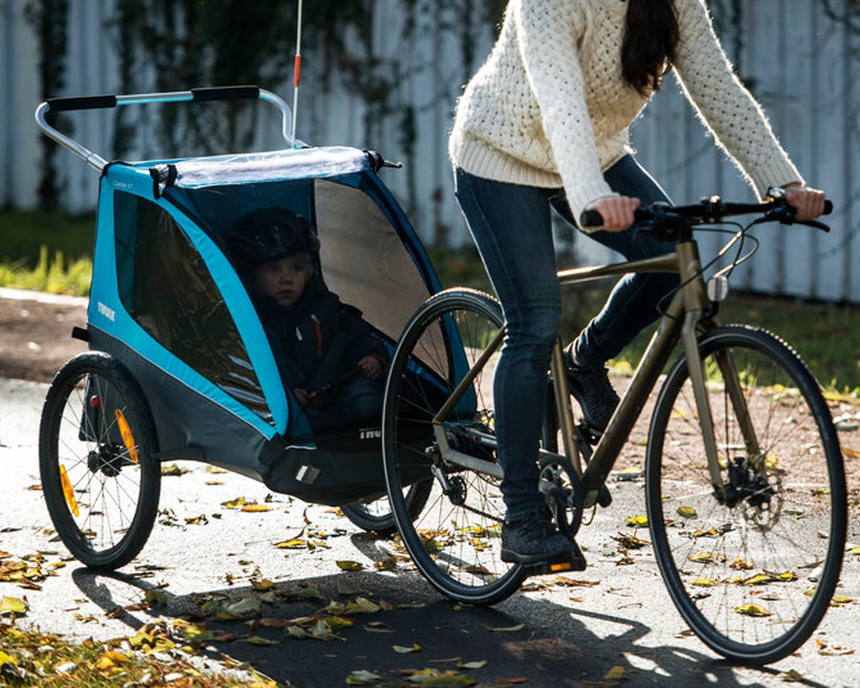 Carrello Bici Porta Bambini